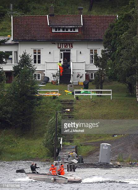 Norwegian police continue searches on Utoya island following Friday's twin extremist attacks on July 24 2011 in Norway A man named as Anders Behring...