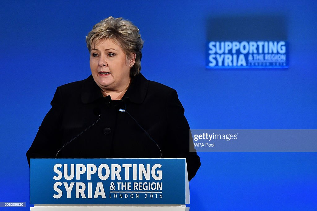 Supporting Syria And The Region London 2016 Conference : News Photo