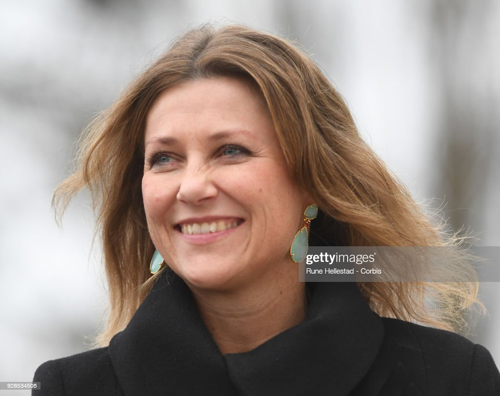 Princess Martha Louise Visits Kurland School : News Photo