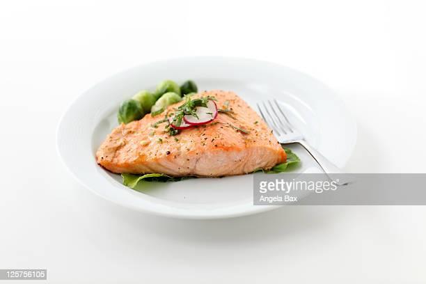 norwegian salmon - cultura norvegese foto e immagini stock