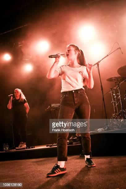 Norwegian singer Sigrid Solbakk Raabe aka Sigrid performs live on stage during a concert at the Astra on September 19 2018 in Berlin Germany