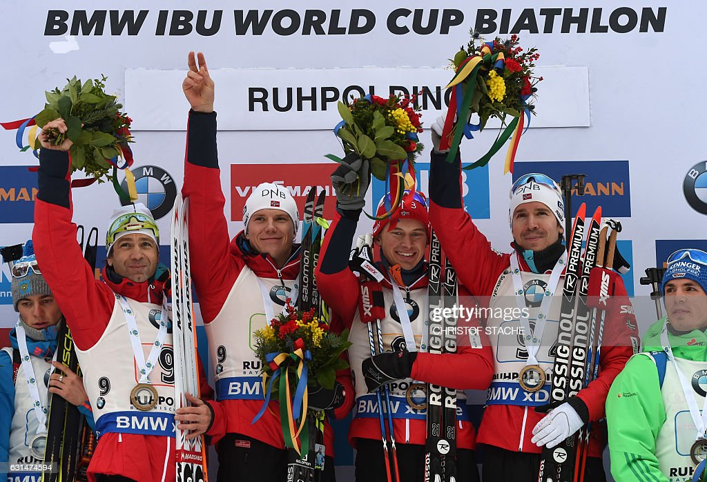 BIATHLON-MEN-WORLD-GER : ニュース写真