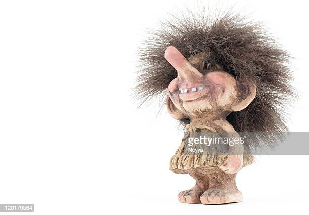 norwegian troll figure - norwegian culture stock pictures, royalty-free photos & images