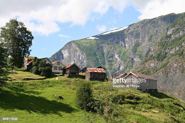 norwegian village of otternes - stephan de prouw stock pictures, royalty-free photos & images