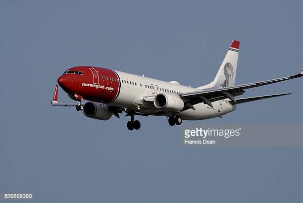 Norwegiancom flight ladning at Copenhagen Interntional Airport tdoay on saturday on 11 October 2014