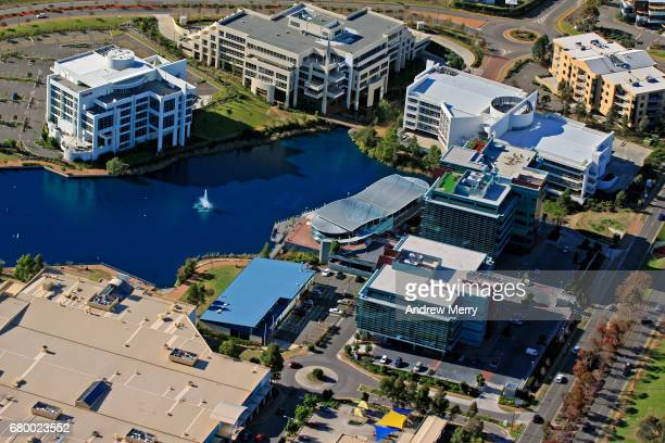 Norwest Business Park, Baulkham Hills, North-West Sydney, Aerial Photography