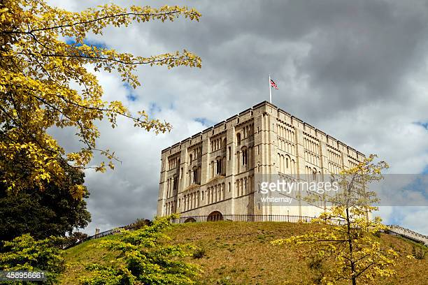 Norwich Castle in late summer