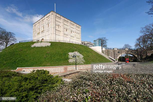 Norwich Castle, Norfolk, 2010. William the Conqueror ordered the construction of Norwich Castle in 1067. The original fortification was of the motte...