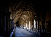 Norwich Cathedral cloister and ceiling