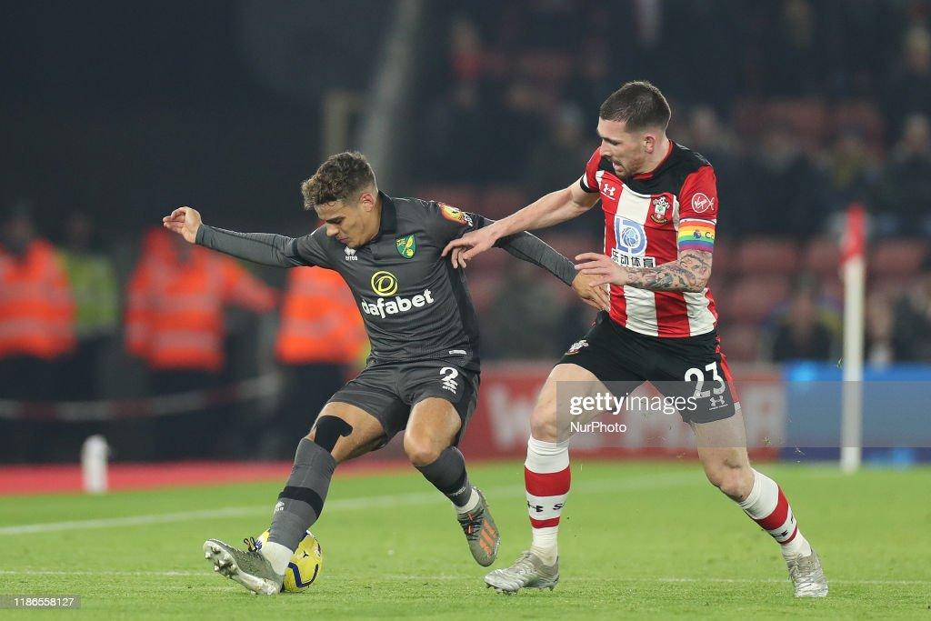 Southampton v Norwich City - Premier League : News Photo