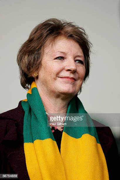 Norwich City Director Delia Smith looks on from the stand during the Coca-Cola Championship match between Norwich City and Ipswich Town at Carrow...