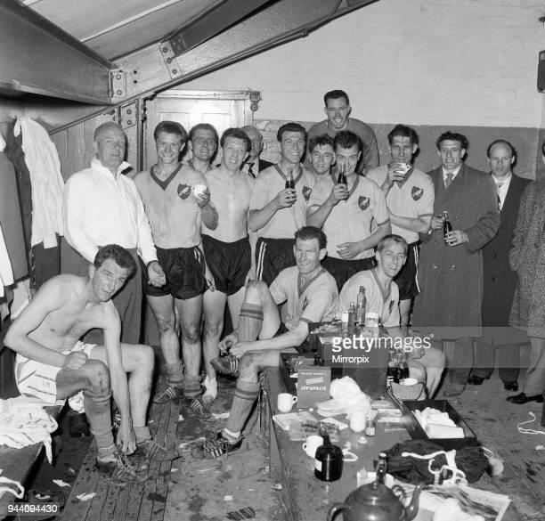 Norwich City FC vs Queens Park Rangers 23rd April 1960