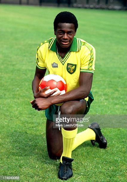 Norwich City Football Club Photocall Justin Fashanu