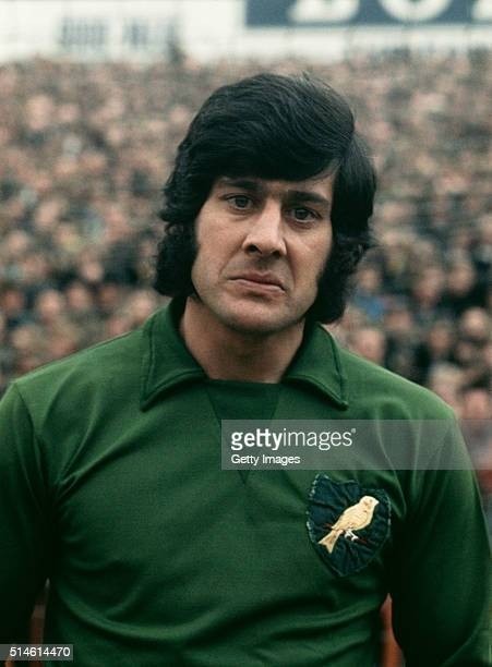 Norwich City goalkeeper Kevin Keelan pictured circa 1974 Keelan made over 500 appearances for the Canaries