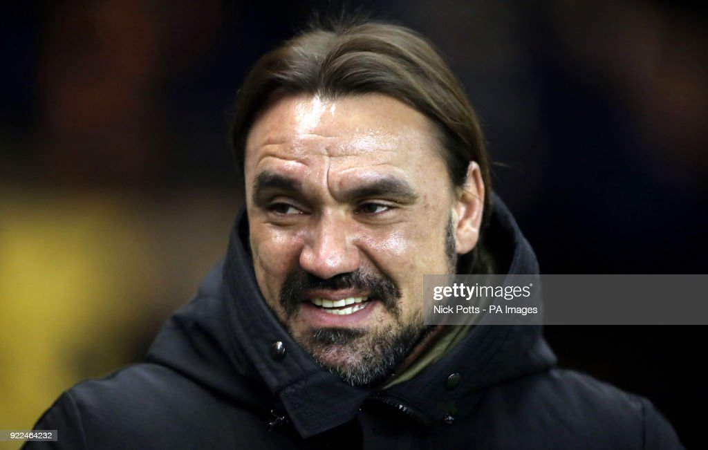 Norwich City manager Daniel Farke during the Sky Bet Championship match at Molineux, Wolverhampton.