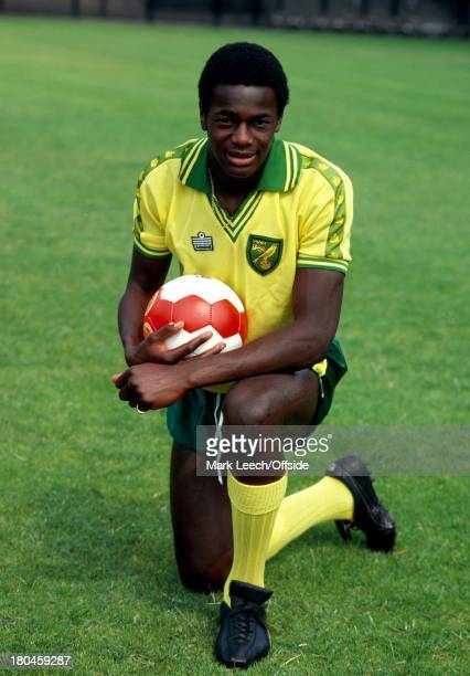 Norwich City PhotocallJustin Fashanu