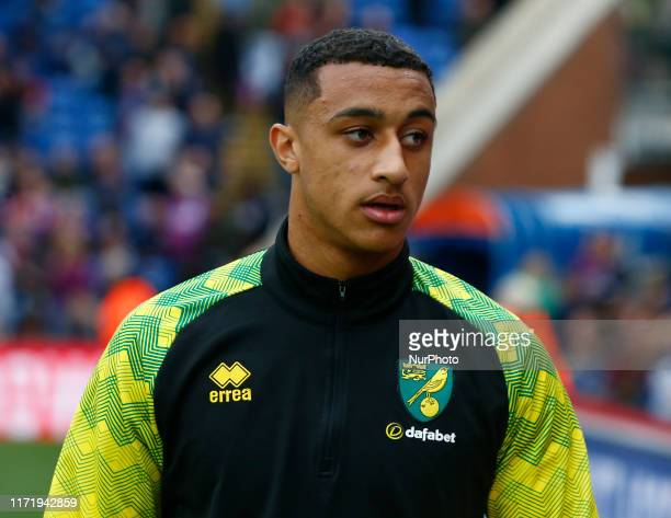 Norwich City's Adam Idah during English Premier League between Crystal Palace and Norwich City at Selhurst Park Stadium London England on 28 Septembe...