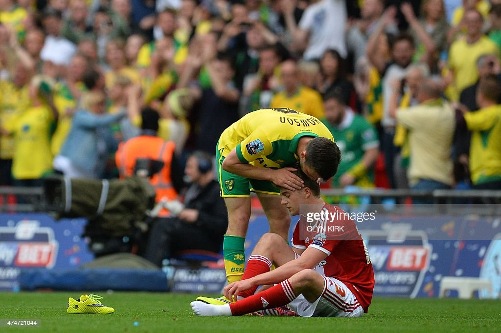 FBL-ENG-MIDDLESBROUGH-NORWICH : News Photo