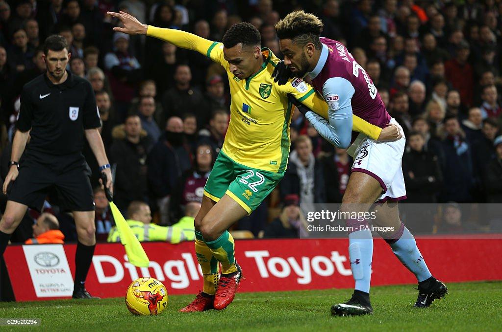 Norwich City v Aston Villa - Sky Bet Championship - Carrow Road : News Photo
