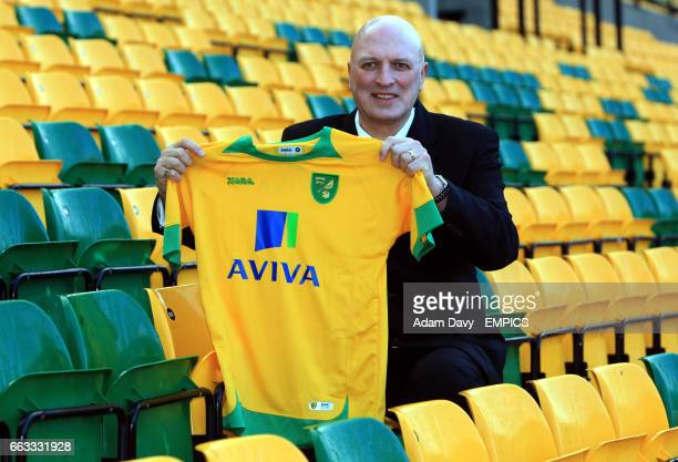 Norwich City's newly appointed Manager Bryan Gunn