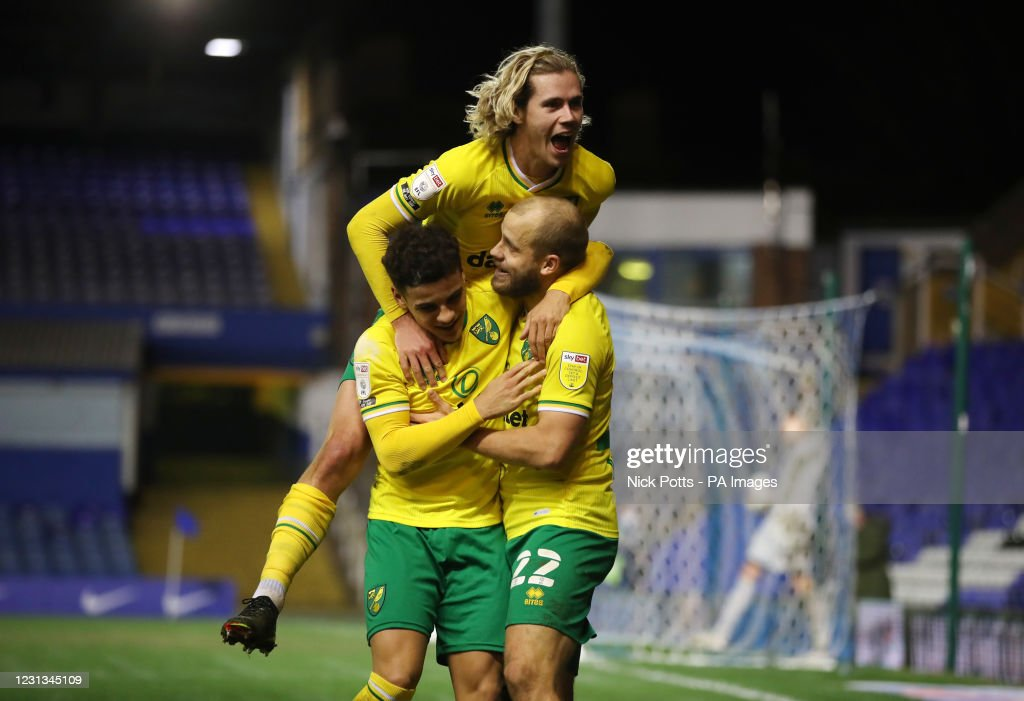 Birmingham City v Norwich City - Sky Bet Championship - St Andrew's Trillion Trophy Stadium : News Photo