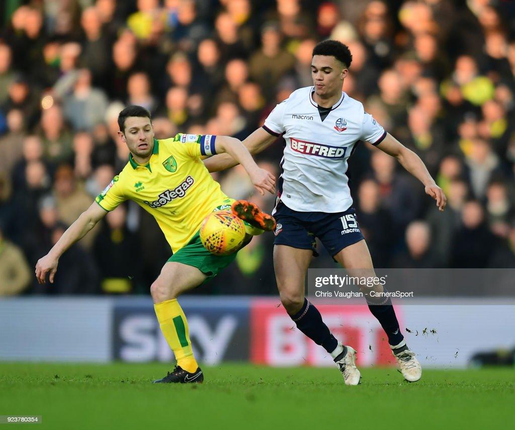 Norwich City v Bolton Wanderers - Sky Bet Championship