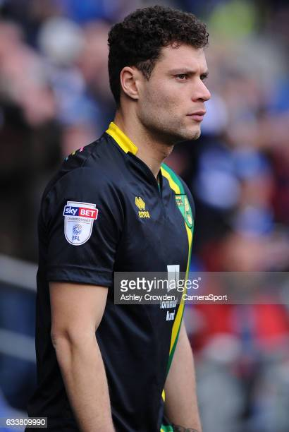 Norwich City's Yanic Wildschut during the Sky Bet Championship match between Cardiff City and Norwich City at Cardiff City Stadium on February 4 2017...