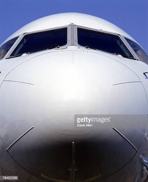 Nose of plane