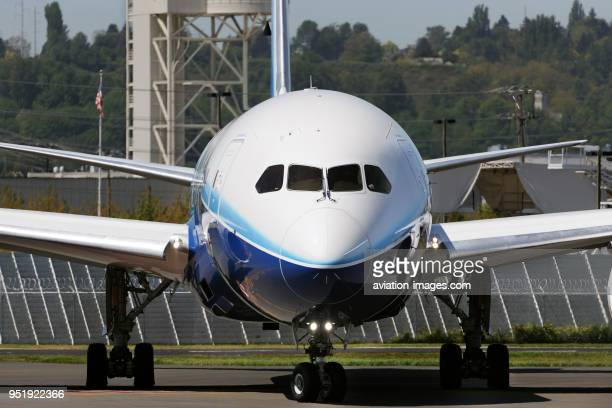 Nose of the first Boeing 7878 Dreamliner prototype
