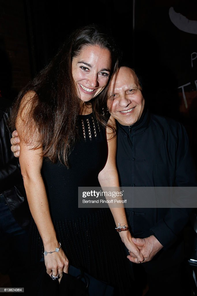 Nose of the Perfume, Marie Salamagne and Azzedine Alaia attend Azzedine Alaia presents his new Perfume 'Alaia Eau de Parfum Blanche'. Held at Azzedine Alaia Gallery on October 10, 2016 in Paris, France.