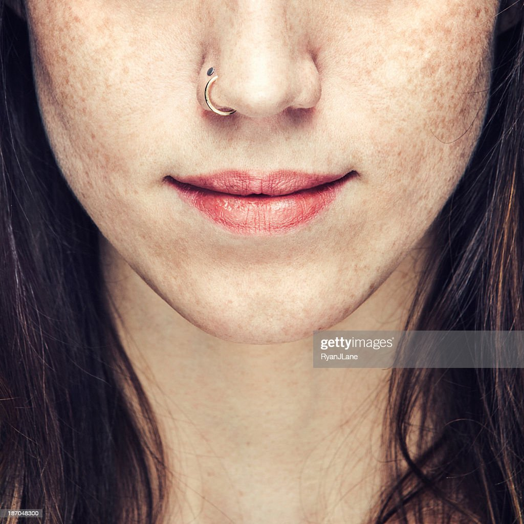 Nose Ring : Stock Photo