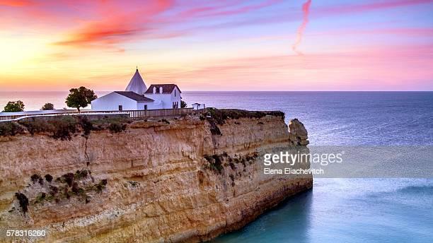 Nossa Senhora da Rocha Chapel, Armacao de Pera, Algarve, Portugal
