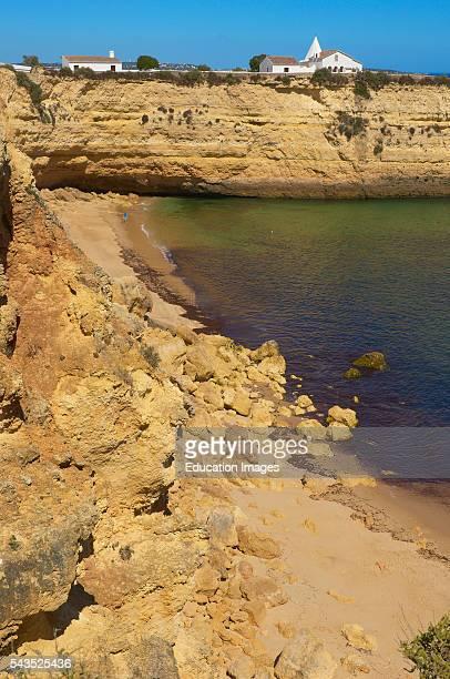 Nossa Senhora da Rocha Chapel Beach Nossa Senhora da Rocha Armaao de Pera Algarve Portugal