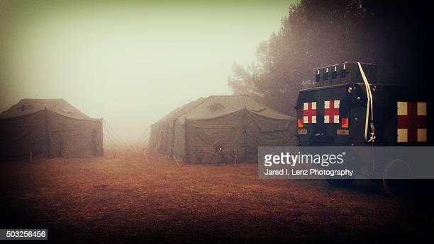 Nostalgic Military Medical Camp