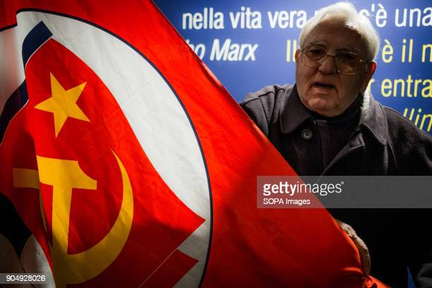 A nostalgic of Communism time is seen during the public debut of a new political reality in Naples and the whole country Power to People is a civic...