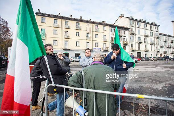 Not a big success the protest organised by Danilo Calvani one year later the protest on 9 december 2014 in Turin Italy by the Pitchfork Movement Few...