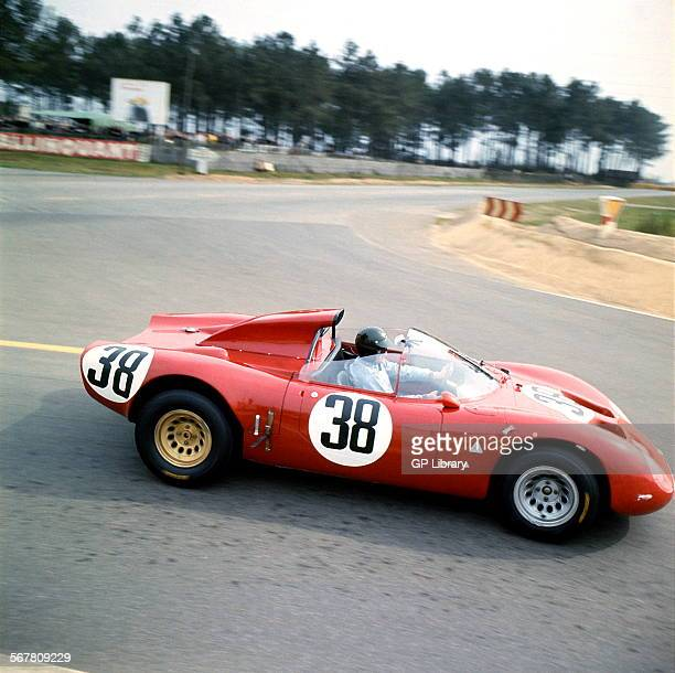 Not Giunti he drove no 39 Le Mans 24 Hours Race 29th September 1968 Carlo Facetti/Spartaco Dini Alfa Romeo T33 finished 5th