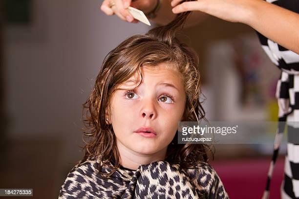 Not happy at hair salon