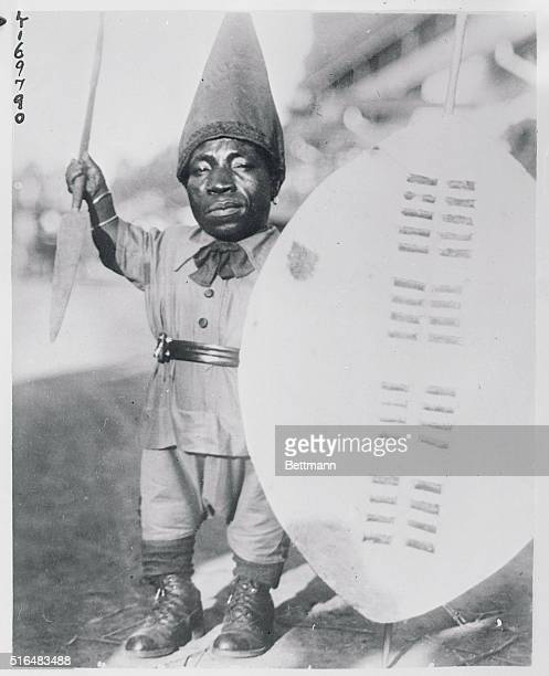 Not Noted for Beauty but Father of 36 Children July the Peitersburg Zulu Dwarf under three feet high 44yearsold husband of nine wives and father of...