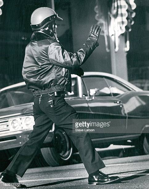 DEC 21 1969 DEC 24 1969 Not pleasant is facing a scowling motorist or dodging a threatening car you're trying to stop to keep the flow of traffic...