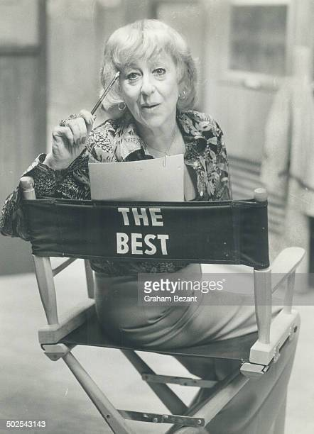 Not quite the best but right in there trying actress Helene Winston popular mother of Al Waxman on TV scored 11 1/2 out of 15 when she took our quiz