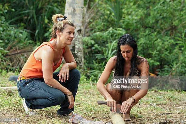 """""""Not the Only Actor on this Island"""" - Lisa Whelchel and Roberta """"RC"""" Saint-Amour during the seventh episode of Survivor: Philippines, Wednesday,..."""