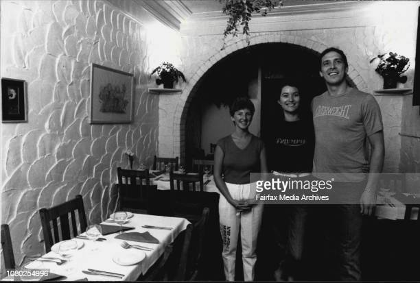 Not The Ritz Cafe Waterloo St Surry Hills Nikki Waring MarieLouise AshleyRiddle and Derek Sowerby March 01 1984