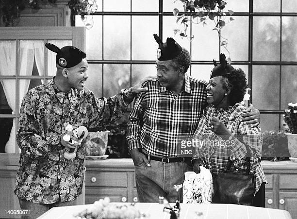 AIR 'Not With My Pig You Don't' Episode 4 Pictured Will Smith as William 'Will' Smith Gilbert Lewis as Joe Banks Virginia Capers as Hattie Banks...