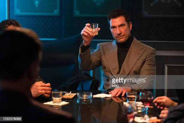 """Not Your Father's Organized Crime"""" Episode 102 -- Pictured: Dylan McDermott as Richard Wheatley --"""