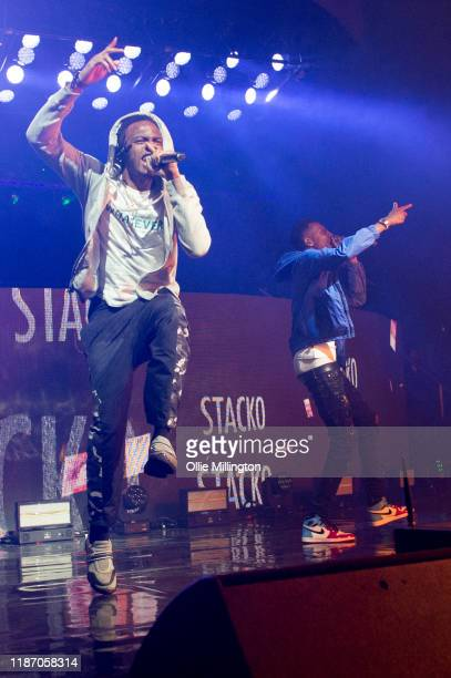 Not3s and MoStack performs at O2 Academy Brixton on November 11, 2019 in London, England.
