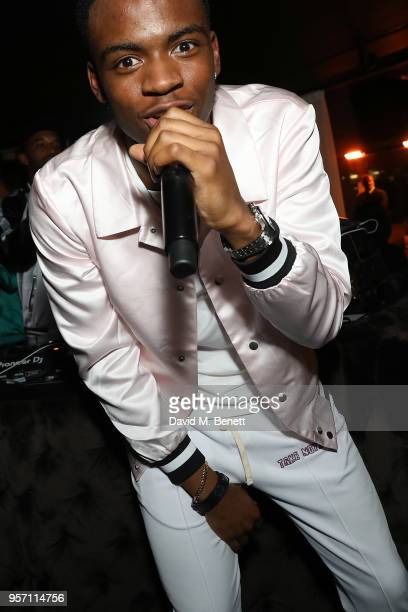 Not3s performs at the boohooMAN by Dele Alli Launch at Radio Rooftop on May 10 2018 in London England