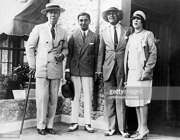 Notables that attended the opening of the Miami Race Meeting to set the dates for the horse racing season were JM Smoot of New York President of the...