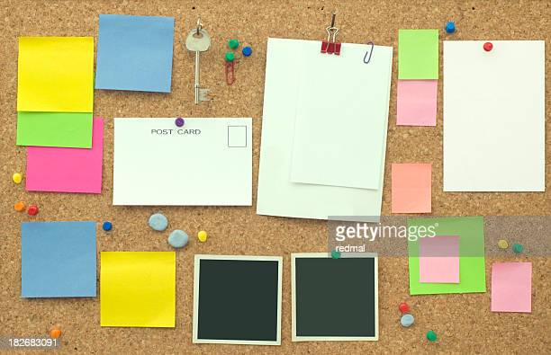 note board - bulletin board stock pictures, royalty-free photos & images