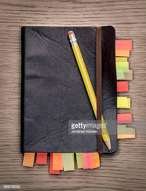 Note book from above